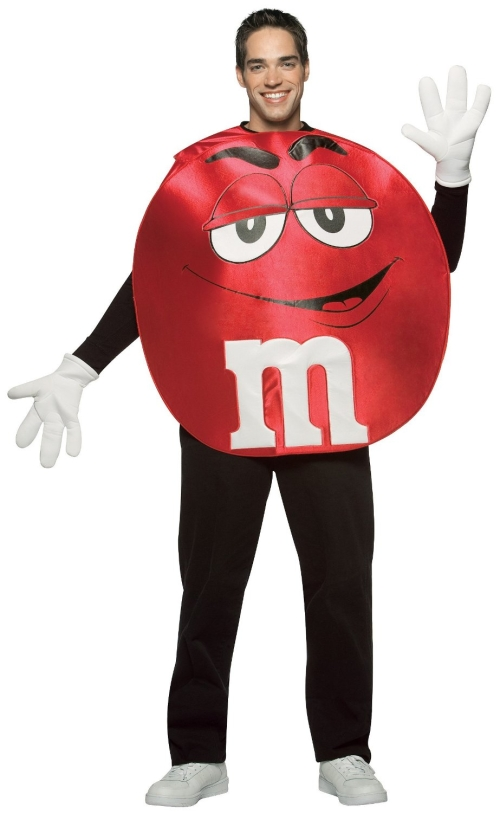 Adult Red M&M Costume