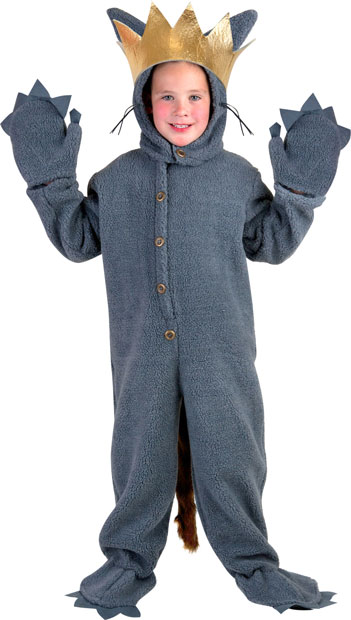 Child's Storybook Wolf Costume