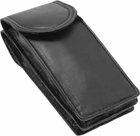 Black Lambskin Eyeglass Case