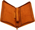 Cowhide Leather Travel Document Holder