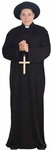 Men's Plus Size Catholic Priest Costume