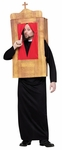 Men's Priest in Confessional Costume Standard