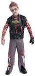 Boy Zombie Punk Costume