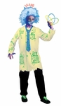 Crazy Mad Scientist Raver Lab Tech Costume