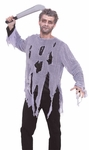 Plain Zombie Shirt Costume