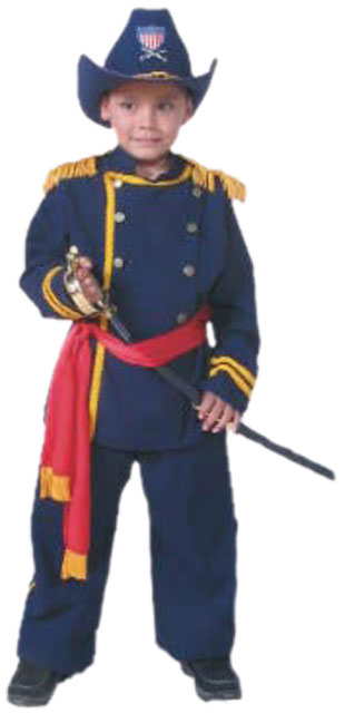 Child's Union Officer Uniform Costume