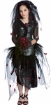 Teen Prom Zombie Girl Costume