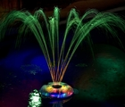 Underwater Floating Pool Light Show and Fountain