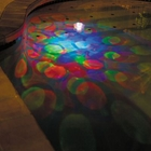 Underwater Swimming Pool Light Show