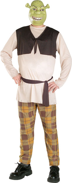 Plus Size Shrek Costume