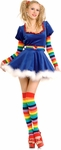 Adult Sexy Rainbow Princess Costume