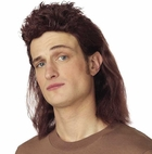 Short Brown Mullet Wig