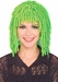 Adult Lime Curly Clown Wig