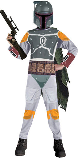 Child's Boba Fett Star Wars Costume