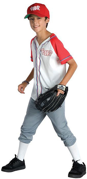 Child's High School Musical 2 Baseball Costume