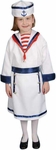 Child's Girl Sailor Costume Dress