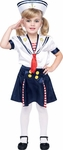 Deluxe Toddler Sailor Girl Costume