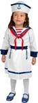 Toddler Girl's Sailor Costume