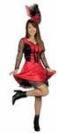 Adult Saloon Girl Dancer Costume