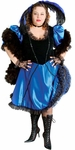 Women's Plus Size Saloon Girl Theater Costume