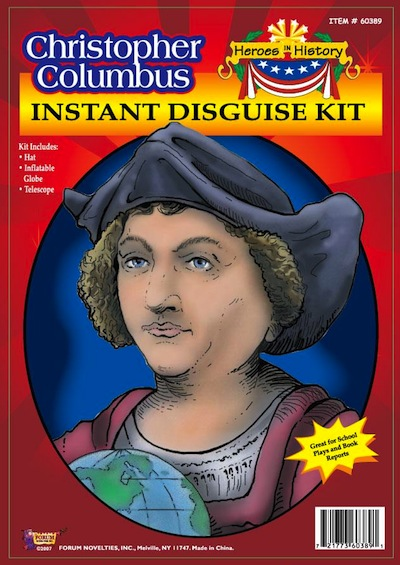 Christopher Columbus Costume Kit