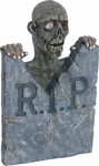Animated Zombie Tombstone Prop