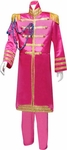 Adult Deluxe Pink Sgt. Pepper Plus Size Costume