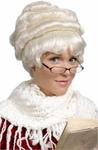 Classic Mrs. Claus Wig