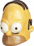 Adult Homer Simpson Vinyl Mask