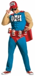 Muscle Chest Duffman Costume