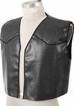 Black Adult Costume Vest