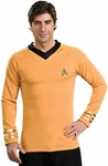 Adult Star Trek Deluxe Classic Gold Shirt