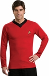 Adult Star Trek Deluxe Classic Red Shirt