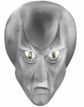 Star Trek Deluxe Bolak Latex Mask