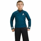 Child's Star Trek Deluxe Blue Shirt Costume