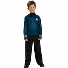 Child's Star Trek Blue Shirt Costume