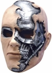 Adult Terminator Salvation T600 Vinyl Mask