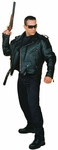 Terminator Leather Biker Jacket Costume
