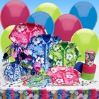 Hawaiian Luau Party Table Setting Kit