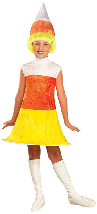 Child's Candy Corn Dress Costume