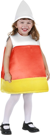 Child's Candy Corn Costume