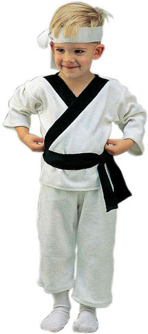 Toddler Karate Costume