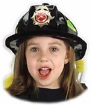 Child's Soft Firefighter Hat