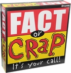Fact or Crap Trivia Board Game