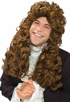 Adult Brown Mozart Wig