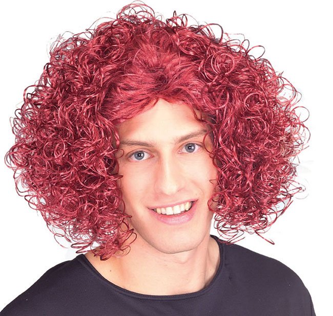 Red Carrot Costume Wig