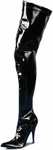 Women's Sexy Black Thigh High Boots