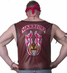 Adult Warriors Costume Vest