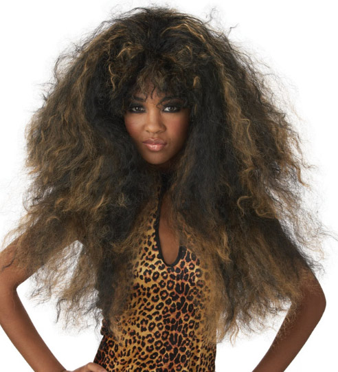 Black/Brown Wild Thang Wig