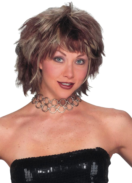 Two Tone Choppy Layered Wig